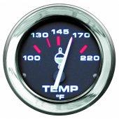 Указатель температуры воды серии Admiral с хромированным ободком