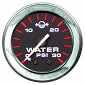Указатель давления воды серии Admiral с хромированным ободком
