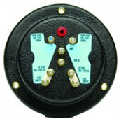 Привод синхронизатора – указатели  серии Flagship с белым циферблатом и хромированными ободками