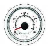 Вольтметр (12 В)  SC 1000,  белый