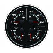 Указатель 4-в-1 (12 В) SC 100 (без логотипа), черный
