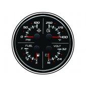 Указатель 4-в-1 (24 В) SC 100 (без логотипа), черный