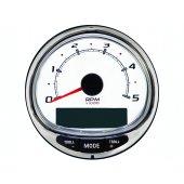 Тахометр SC 1000 (без логотипа), белый