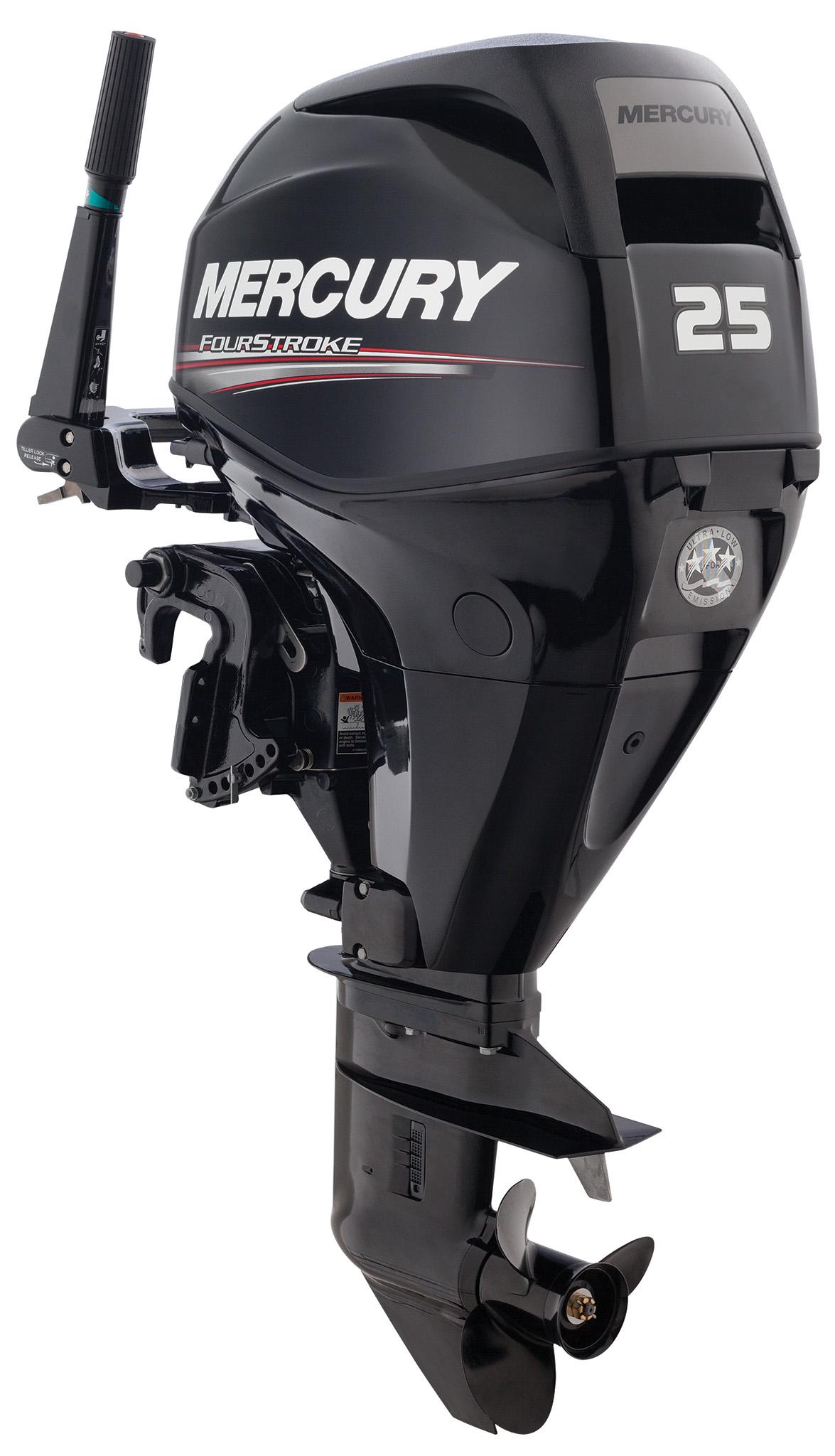 Четырехтактный лодочный мотор MERCURY F25 EL EFI - 3