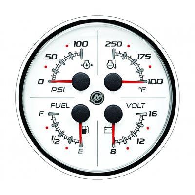 Указатель 4-в-1 (12 В) SC 100, белый