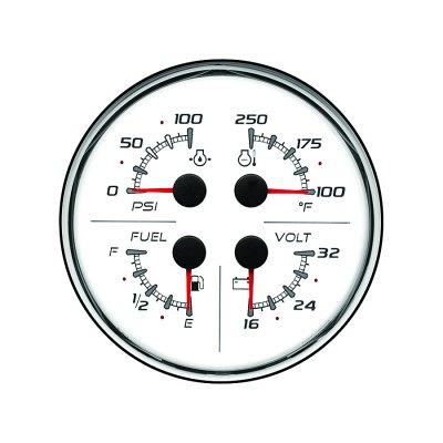 Указатель 4-в-1 (24 В) SC 100 (без логотипа), белый