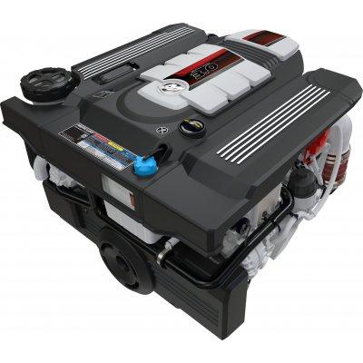 Двигатель Mercury Diesel 3.0-150 MECC с поворотно-откидной колонкой BRAVO 2 X