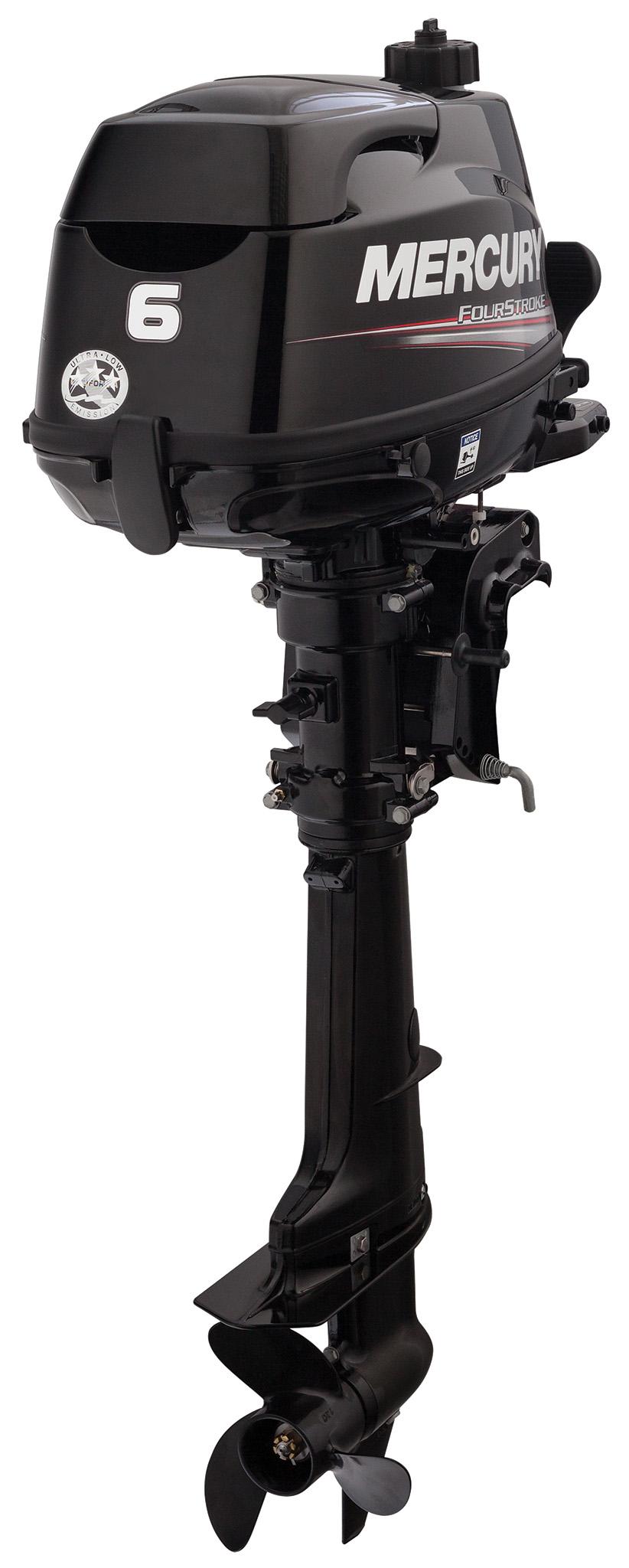 Четырехтактный лодочный мотор MERCURY F6 ML - 1