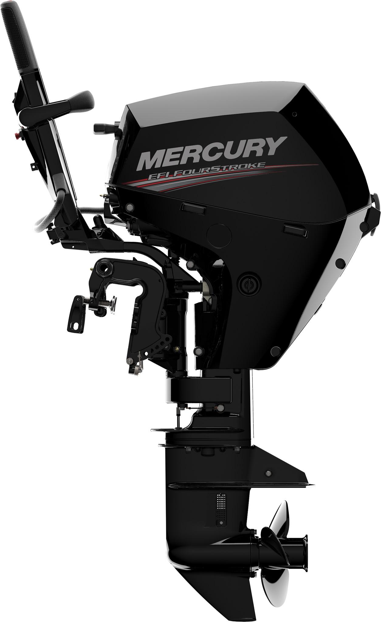 Четырехтактный лодочный мотор MERCURY F10 MH EFI - 4
