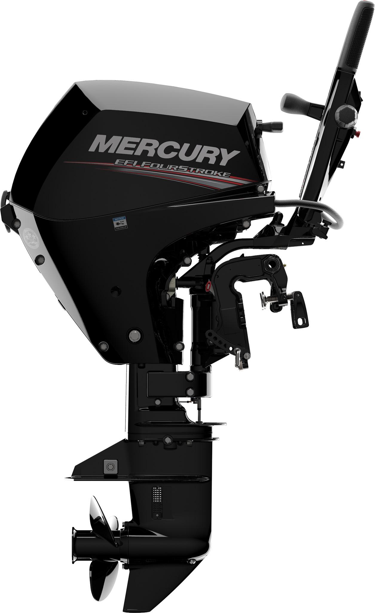 Четырехтактный лодочный мотор MERCURY F10 MH EFI - 5