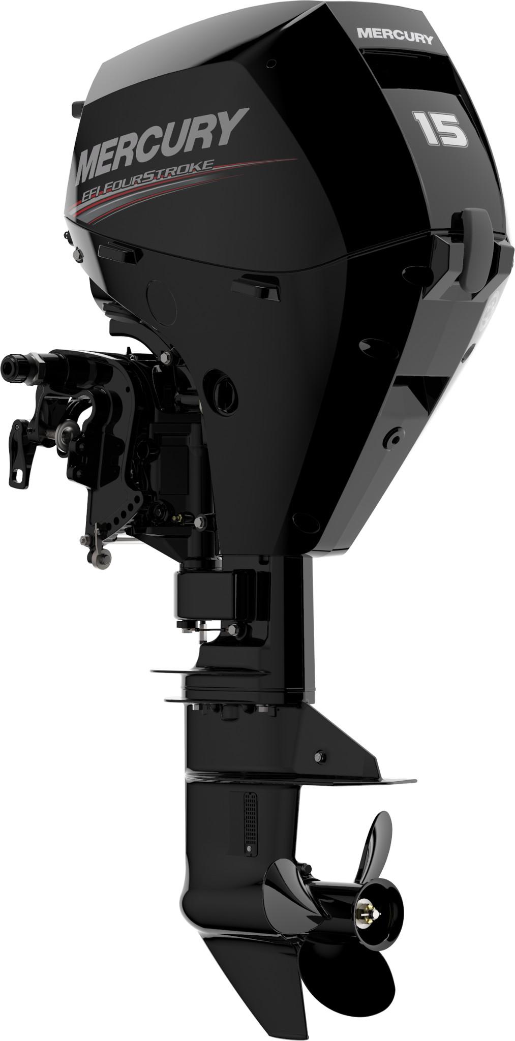 Четырехтактный лодочный мотор MERCURY F15EL EFI - 3