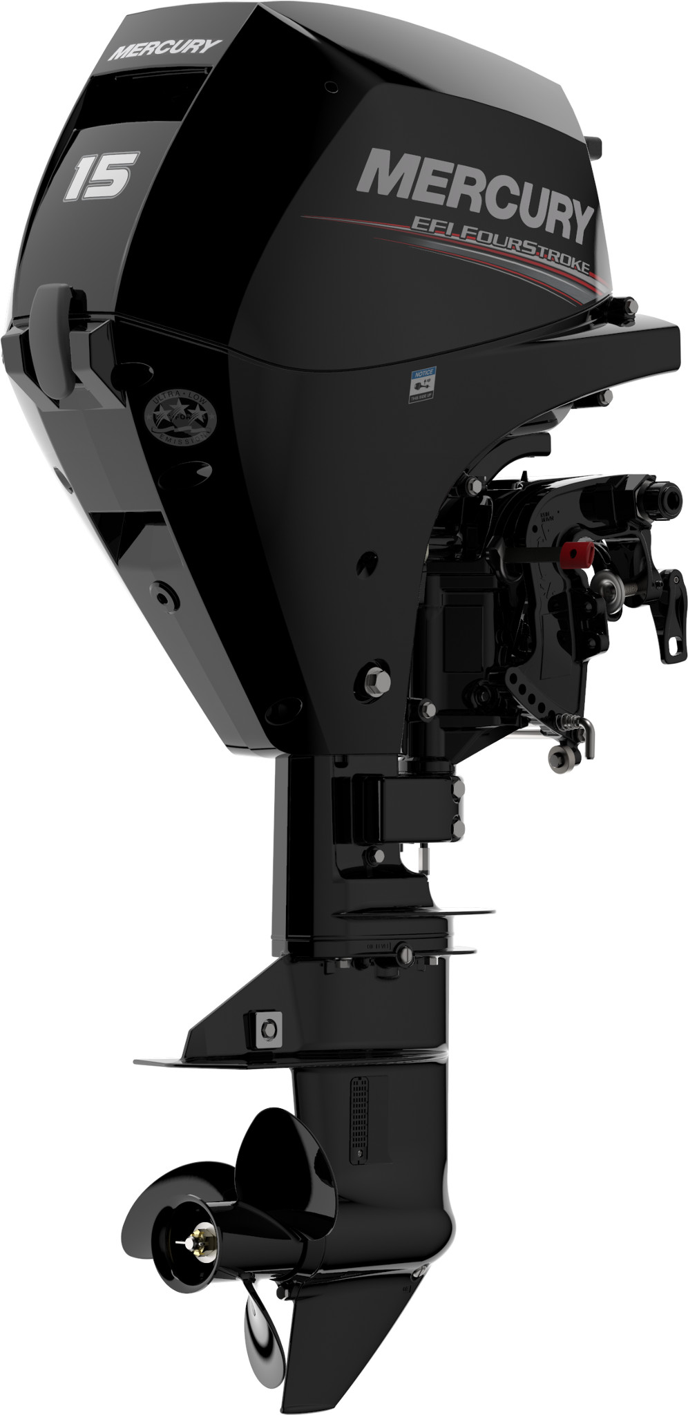 Четырехтактный лодочный мотор MERCURY F15EL EFI - 1
