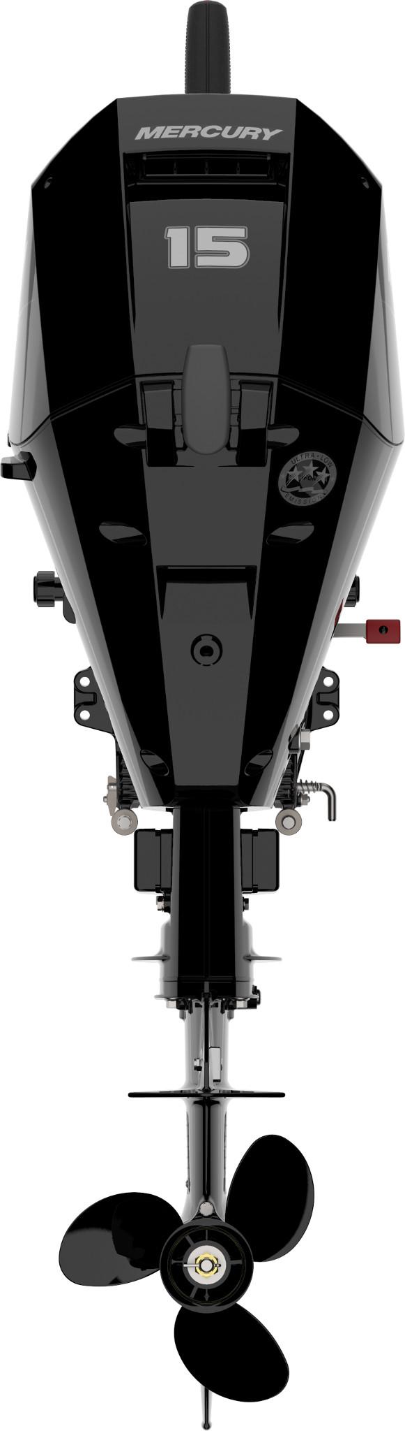 Четырехтактный лодочный мотор MERCURY F15MLH EFI - 2