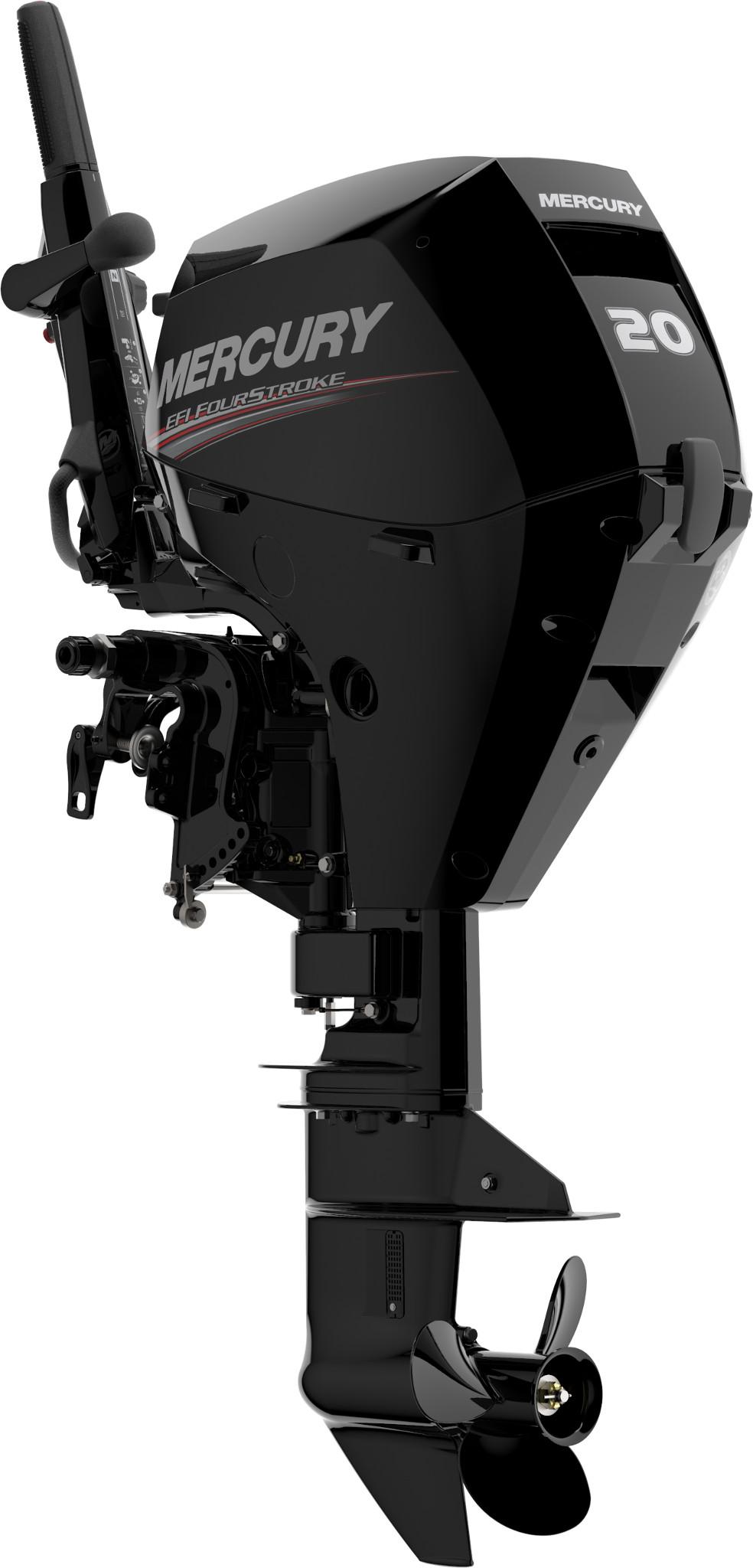 Четырехтактный лодочный мотор MERCURY F20 MH EFI - 3